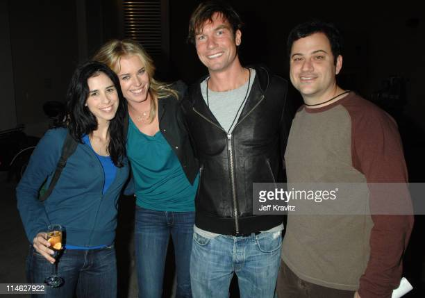 Sarah Silverman Rebecca Romijn Jerry O'Connell and Jimmy Kimmel