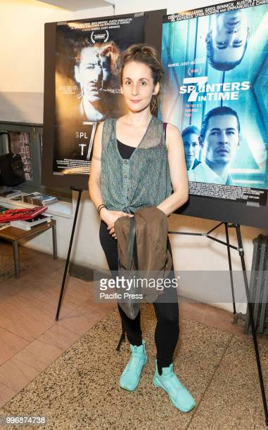 Sarah Small attends 7 Splinters in Time New York premiere at The Anthology Film Archives