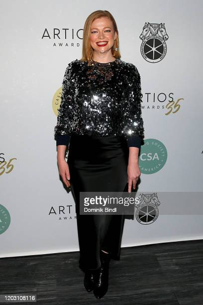 Sarah Snook attends the 35th Annual Artios Awards at Stage 48 on January 30, 2020 in New York City.