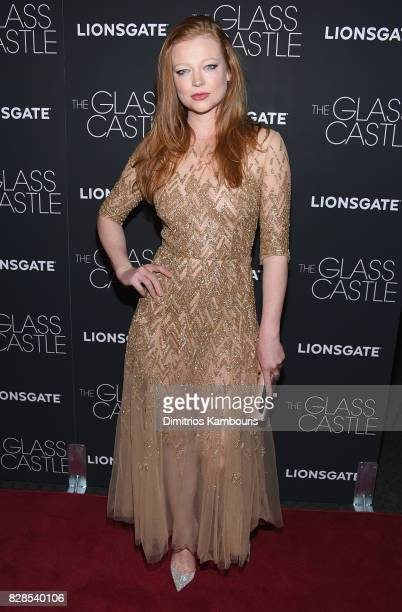 Sarah Snook attends The Glass Castle New York Screening the The Glass Castle New York Screening at SVA Theatre on August 9 2017 in New York City