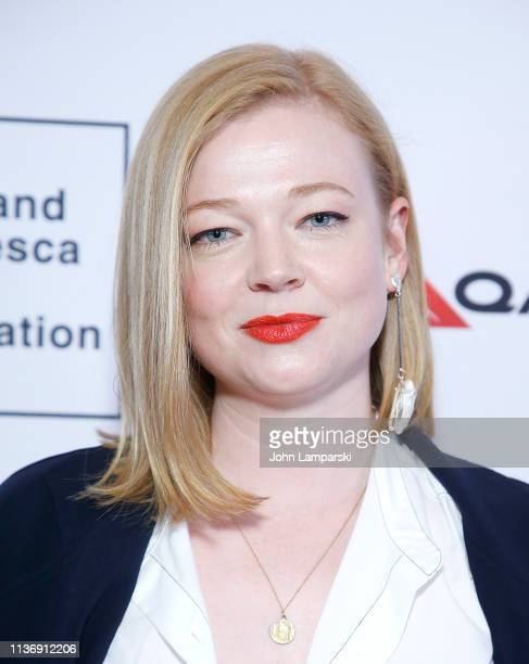 "Sarah Snook attends ""The Nightingale"" opening night screening 2019 Australian Screen Forum at Elinor Bunin Munroe Film Center on March 19 2019 in New..."