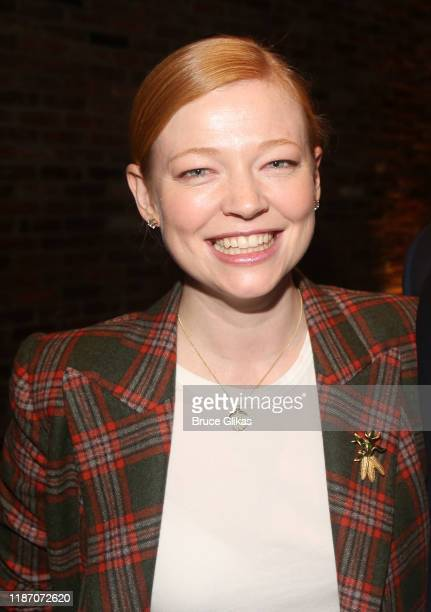 Sarah Snook poses at the 2019 SPACE on Ryder Farm Gala at The Caldwell Factory on November 11 2019 in New York City