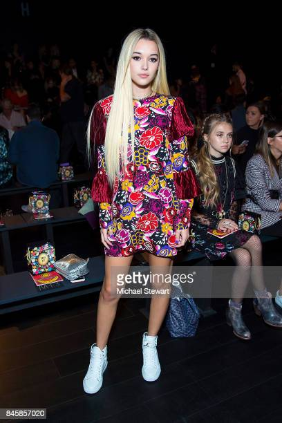 Sarah Snyder attends the Ann Sui fashion show during New York Fashion Week The Shows at Gallery 1 Skylight Clarkson Sq on September 11 2017 in New...