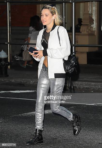 Sarah Snyder is seen on September 07 2016 in New York City