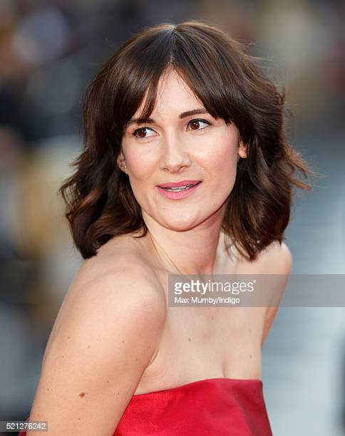 Sarah Solemani arrives for the UK film premiere of 'Florence Foster Jenkins' at Odeon Leicester Square on April 12 2016 in London England