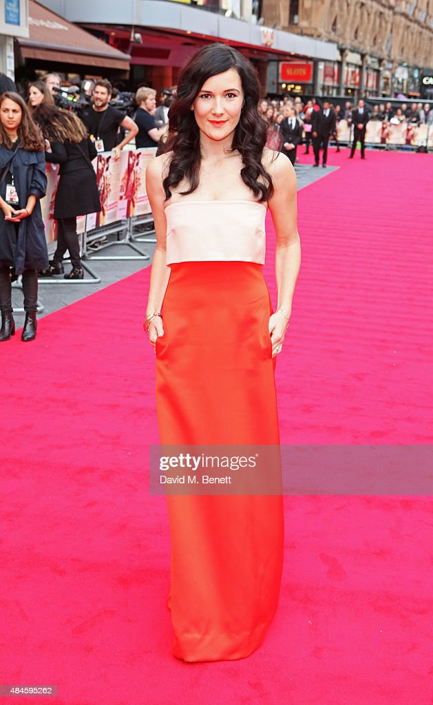 Sarah Solemani attends the World Premiere of 'The Bad Education Movie' at Vue West End on August 20, 2015 in London, England.