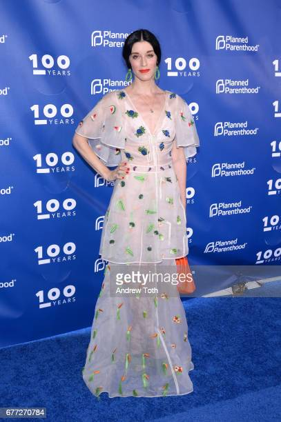 Sarah Sophie Flicker attends the Planned Parenthood 100th Anniversary Gala at Pier 36 on May 2 2017 in New York City