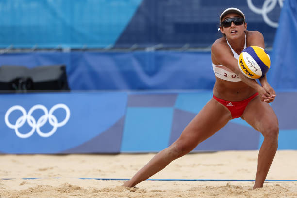 JPN: Beach Volleyball - Olympics: Day 8