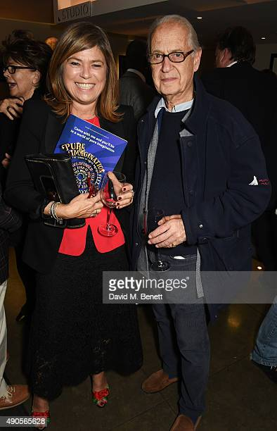 Sarah Standing and Sir John Standing attend the press night of Pure Imagination The Songs of Leslie Bricusse at the St James Theatre on September 29...