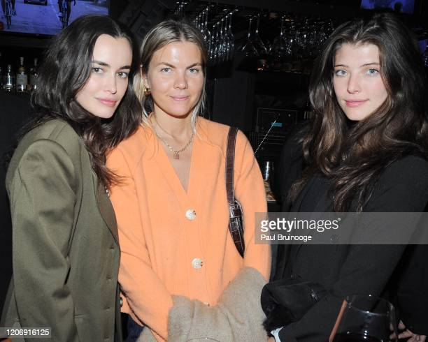 Sarah Stephens Guest and Brittany Burke attend Sony Pictures Classics And The Cinema Society Host A Special Screening Of The Climb at iPic Theater on...