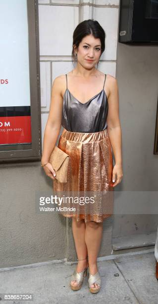 Sarah Stiles attends the Broadway Opening Night performance of 'The Prince of Broadway' at the Samuel J Friedman Theatre on August 24 2017 in New...