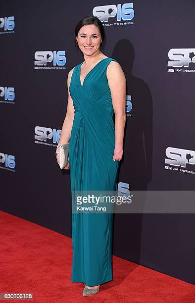 Sarah Storey attends the BBC Sports Personality Of The Year at Resorts World on December 18 2016 in Birmingham United Kingdom