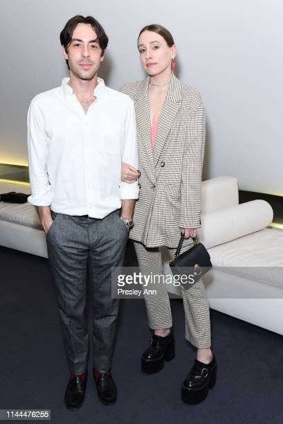 Sarah Sutherland attends Netflix Special Screening Of Rightor Doyle's BONDiNG at William Morris Endeavor Screening Room on April 22 2019 in Beverly...