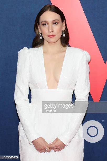 """Sarah Sutherland attends the premiere of the final season of """"Veep"""" at Alice Tully Hall, Lincoln Center on March 26, 2019 in New York City."""