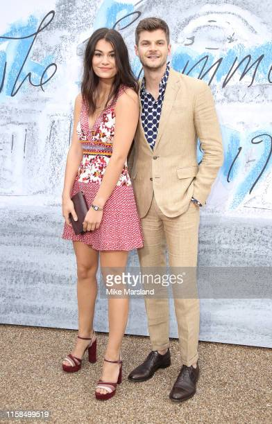 Sarah Tarleton and Jim Chapman attend The Summer Party 2019 Presented By Serpentine Galleries And Chanel at The Serpentine Gallery on June 25 2019 in...