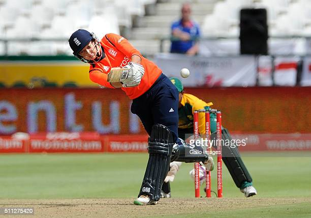 Sarah Taylor of England during the 2nd T20 International match between South African Women and England Women at PPC Newlands on February 19 2016 in...