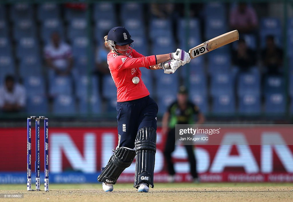 Women's ICC World Twenty20 India 2016: Semi Final - England v Australia