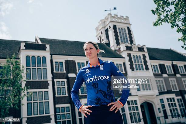 Sarah Taylor of England poses for a portrait at the National Cricket Performance Centre on July 1 2015 in Loughborough England
