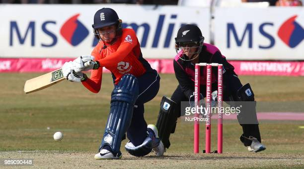 Sarah Taylor of England Women during International Twenty20 Final match between England Women and New Zealand Women at The Cloudfm County Ground...