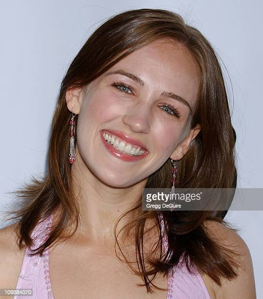 Sarah Thompson during 2005 WB Network's All Star Celebration Arrivals at  The Cabana Club in Hollywood