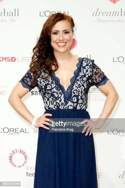 Sarah Tkotsch attends the Dreamball 2017 at Westhafen Event Convention Center on September 20 2017 in Berlin Germany