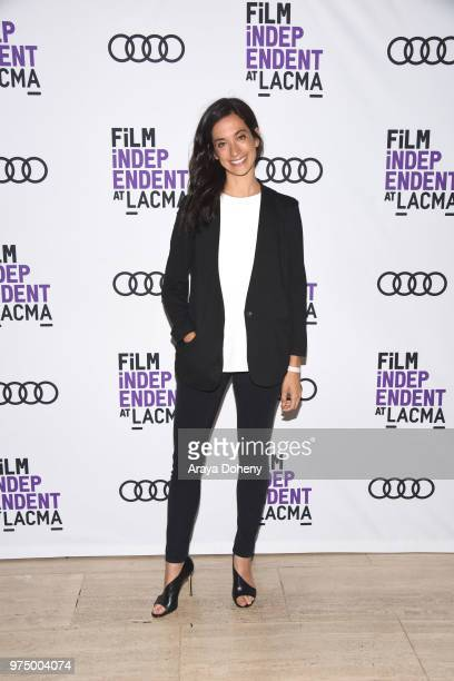 Sarah Treem attends Film Independent at LACMA presents screening and QA of The Affair at Bing Theater At LACMA on June 14 2018 in Los Angeles...