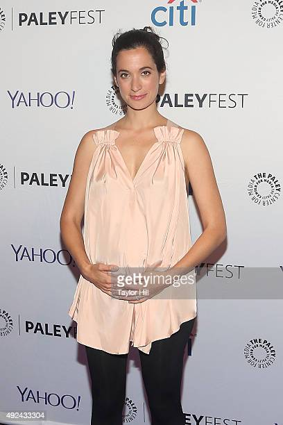 Sarah Treem attends The Affair screening at PaleyFest New York 2015 at The Paley Center for Media on October 12 2015 in New York City
