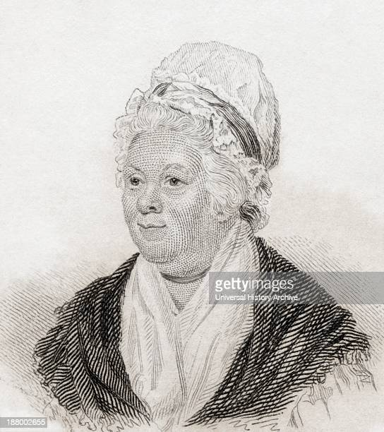 Sarah Trimmer Nee Kirby 1741 To 1810 Noted Writer And Critic Of British Children's Literature From Crabb's Historical Dictionary Published 1825