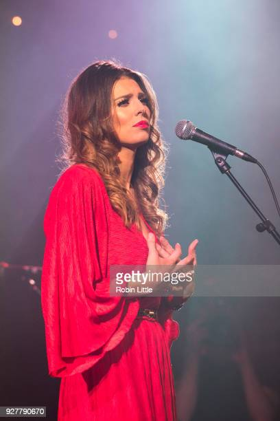 Sarah Twinnie performs at the Union Chapel on March 5 2018 in London England