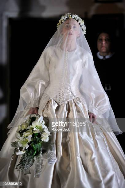 Sarah Tynan as Lucia in English National Opera's production of Gaetano Donizetti's Lucia di Lammermoor directed by David Alden and conducted by...