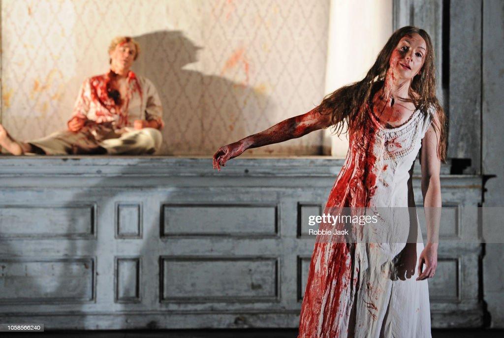 English National Opera's production of Gaetano Donizettiís Lucia di Lammermoor at the London Coliseum : News Photo