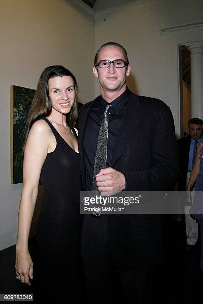 Sarah Underhill and David Joel attend The Parrish Art Museum Midsummer Party Honoring Director Trudy C Kramer at Southampton on July 14 2007