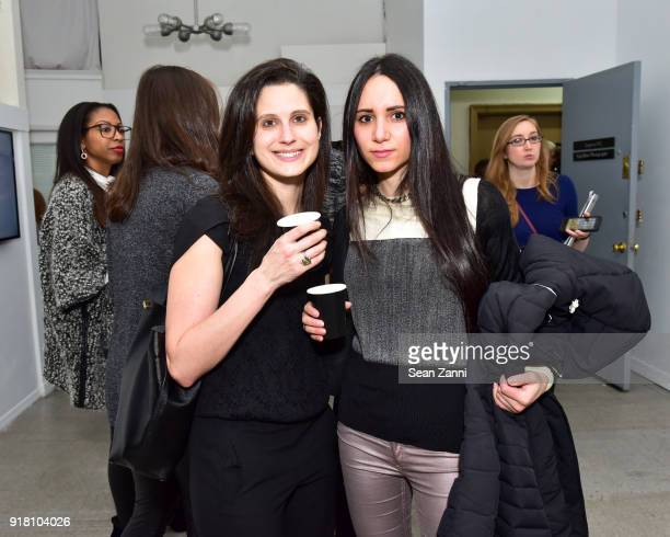 Sarah Vacchiano and Elizabeth Shafiroff attend Jean Shafiroff Ambassador for Southampton Animal Shelter Hosts Private Preview of Ejaz Khan's...