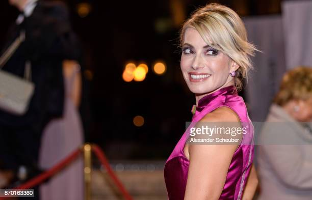 Sarah Valentina Winkhaus is seen during the German Sports Media Ball at Alte Oper on November 4 2017 in Frankfurt am Main Germany