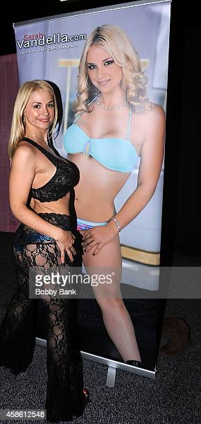 Sarah Vandella attends Day 1 of EXXXOTICA 2014 at New Jersey Convention and Exposition Center on November 7 2014 in Edison City