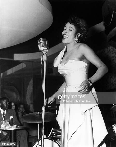Sarah Vaughn Singing