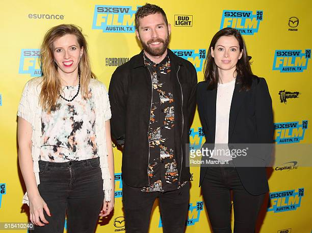 Sarah Violet Bliss Charles Rogers and Lily Burns attend 'Search Party' Panel and QA TBS at SXSW 2016 on March 13 2016 in Austin Texas 26003_005