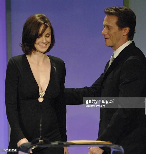 Sarah Wayne Callies and Steven Weber during 11th Annual Art Directors Guild Awards Inside