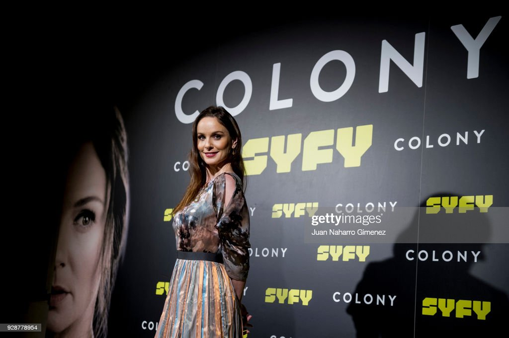 Sarah Wayne Callies attends Colony' Tv Series Season 1 - Madrid Premiere on March 7, 2018 in Madrid, Spain.