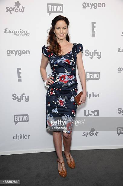 Sarah Wayne Callies attends the 2015 NBCUniversal Cable Entertainment Upfront at The Jacob K Javits Convention Center on May 14 2015 in New York City