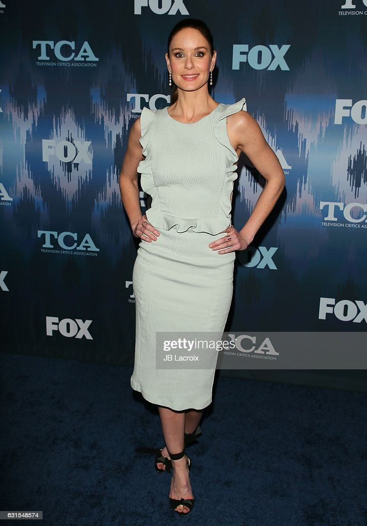 Sarah Wayne Callies attends the 2017 Winter TCA Tour - FOX All-Star Party on January 11, 2017 in Pasadena, California.