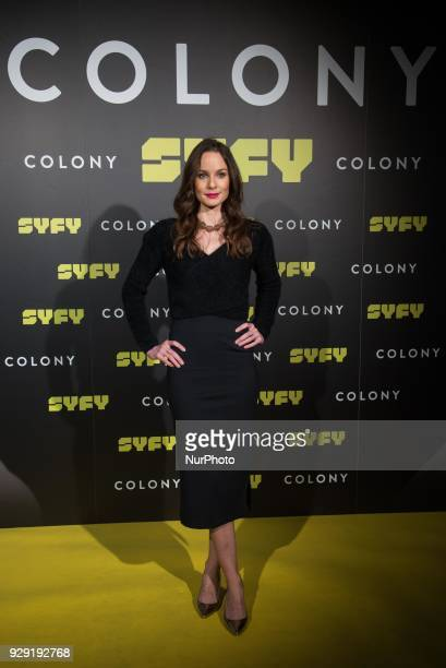 Sarah Wayne Callies attends the 'Colony' Photocall at Santo Mauro Hotel in Madrid on March 8 2018