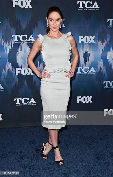 Sarah Wayne Callies attends the FOX AllStar Party during the 2017 Winter TCA Tour at Langham Hotel on January 11 2017 in Pasadena California