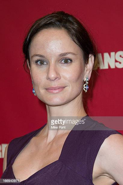Sarah Wayne Callies attends the Orphans Broadway opening night at the Gerald Schoenfeld Theatre on April 18 2013 in New York City