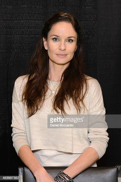 Sarah Wayne Callies attends Wizard World Chicago Comic Con 2014 at Donald E Stephens Convention Center on August 22 2014 in Chicago Illinois