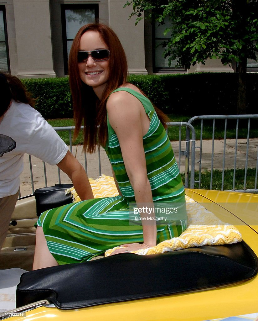 Sarah Wayne Callies during 90th Running of The Indianapolis 500 - The Indy 500 All Star Festival Parade in Indianapolis, Indiana, United States.