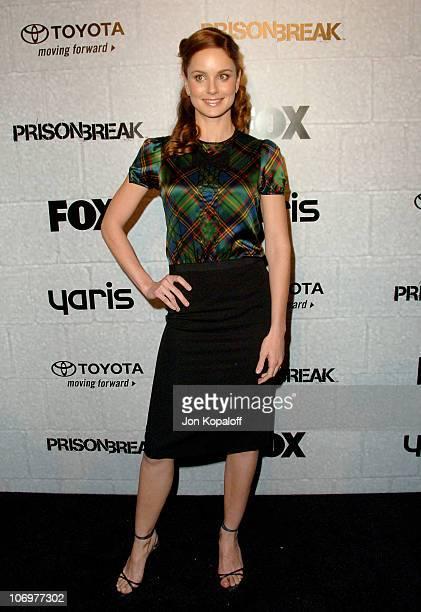 Sarah Wayne Callies during 'Prison Break' End of Season Screening Party at Fox Lot in Los Angeles California United States