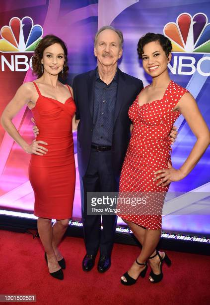 """Sarah Wayne Callies, Michael O'Neill and Michele Weaver from """"Council of Dads"""" attend the NBC Midseason New York Press Junket at Four Seasons Hotel..."""