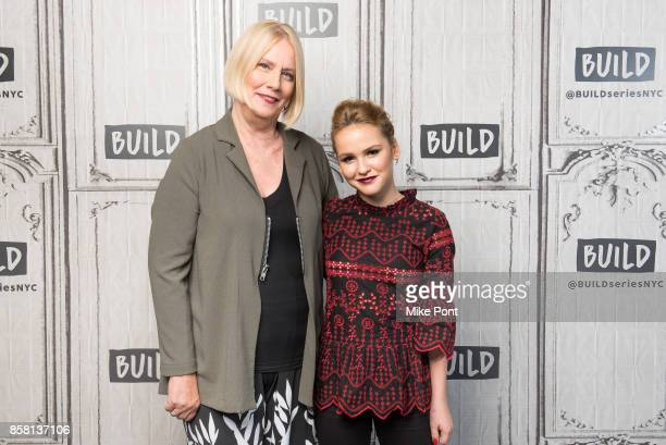 Sarah Weeks and Talitha Bateman visit Build Studio to discuss 'So B It' at Build Studio on October 5 2017 in New York City
