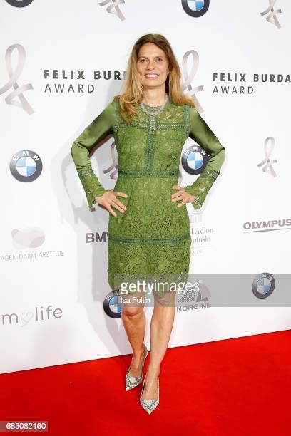 Sarah Wiener attends the Felix Burda Award at Hotel Adlon on May 14, 2017 in Berlin, Germany.